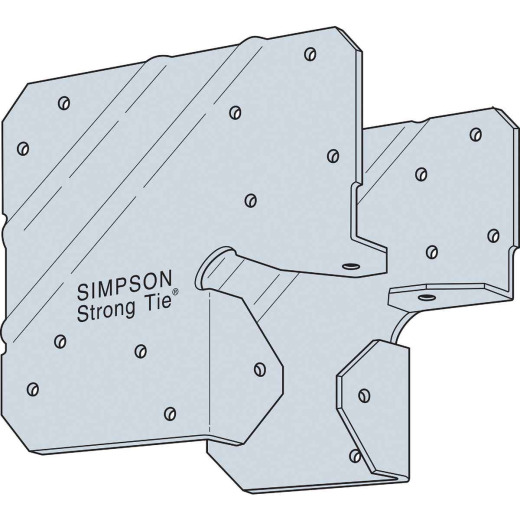 Simpson Strong-Tie 4x 20 ga Galvanized Post Cap