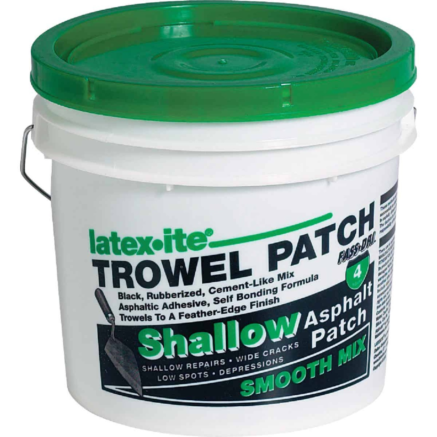 Latex-ite Trowel Patch 2 Gal. Trowel Asphalt Patch Image 1