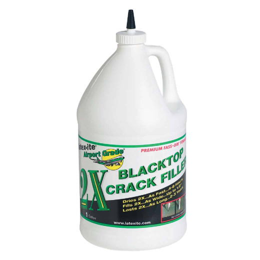 Latex-ite 2X Airport Grade 1 Gal. Blacktop Crack Filler