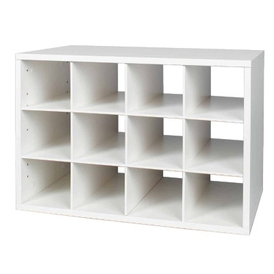 FreedomRail Cubby White Organization Box