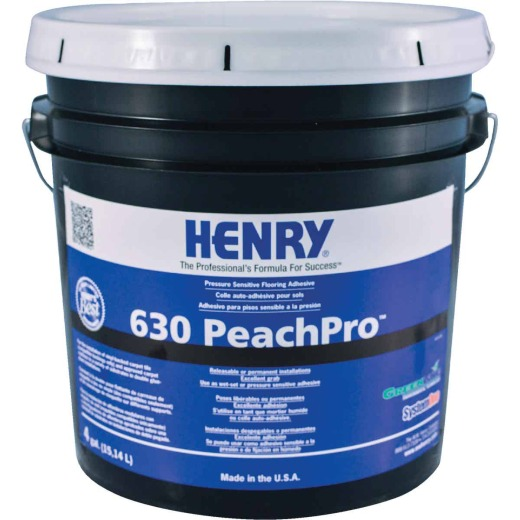 Henry 630 4 Gal. Pressure Sensitive Carpet Adhesive