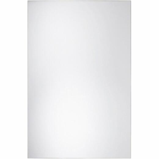 Erias Home Design 36 In. W. x 42 In. H. Frameless Polished Edge Wall Mirror