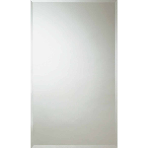 Erias Home Design 24 In. W. x 36 In. H. Frameless Beveled Edge Wall Mirror