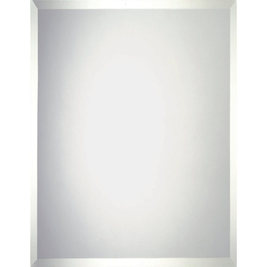 Erias Home Design 36 In. W. x 48 In. H. Frameless Beveled Edge Wall Mirror