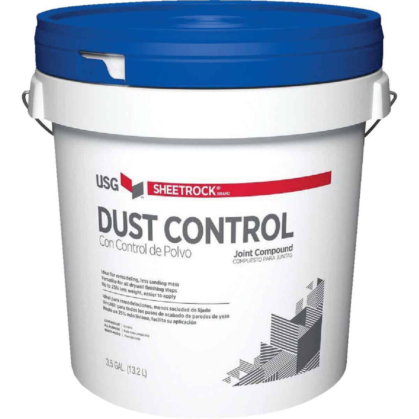 Sheetrock 3.5 Gal. Pail Pre-Mixed Lightweight All-Purpose Dust Control Drywall Joint Compound Image 1