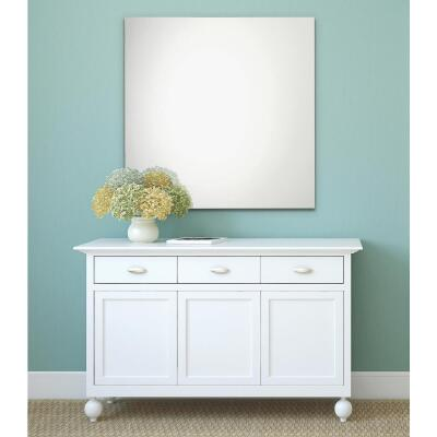 Erias Home Design 24 In. W. x 36 In. H. Frameless Polished Edge Wall Mirror