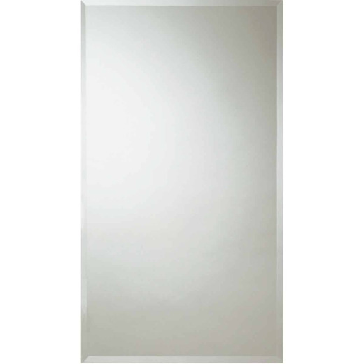 Erias Home Design 30 In. W. x 48 In. H. Frameless Beveled Edge Wall Mirror