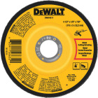 DeWalt HP Type 27 4-1/2 In. x 1/8 In. x 7/8 In. Metal/Stainless Grinding Cut-Off Wheel Image 1