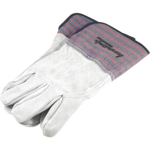 Forney Size 13 In. Gray Large Welding Gloves