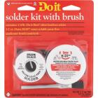 Do it Silver bearing lead-free 1/4 lb H-205 water soluble paste flux Solder Kit Image 2