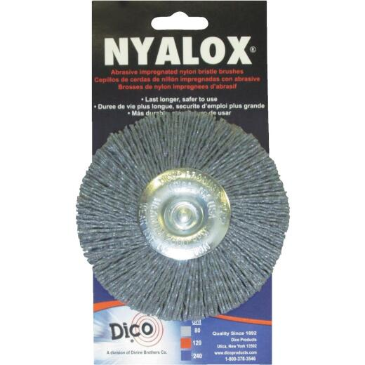 Dico 4 In. Extra Coarse Drill-Mounted Wire Brush