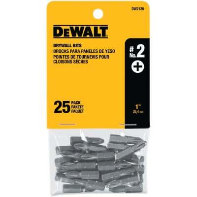 DeWalt Drywall Screwdriver Bit Set (25-Piece)