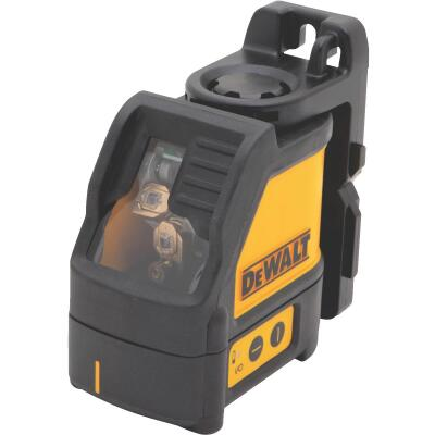 DeWalt 100 Ft. Self-Leveling Cross-Line Laser Level