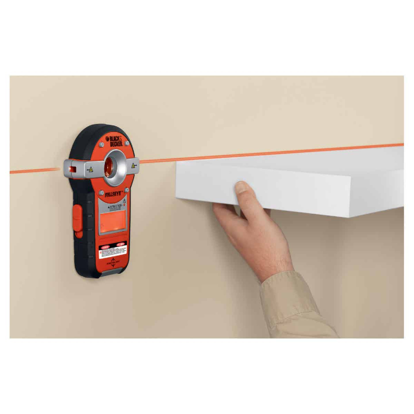 Black & Decker Bullseye 20 Ft. Self-Leveling Line Laser Level with Stud Sensor Image 2