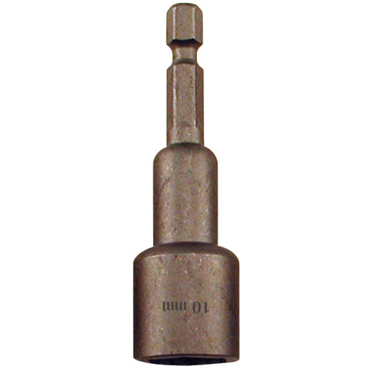 Best Way Tools Metric 10 mm x 2-1/2 In. Magnetic Nutdriver Bit