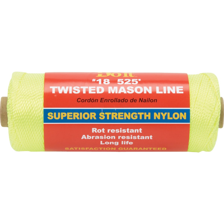 Do it 525 Ft. Fluorescent Yellow Twisted Nylon Mason Line Image 1