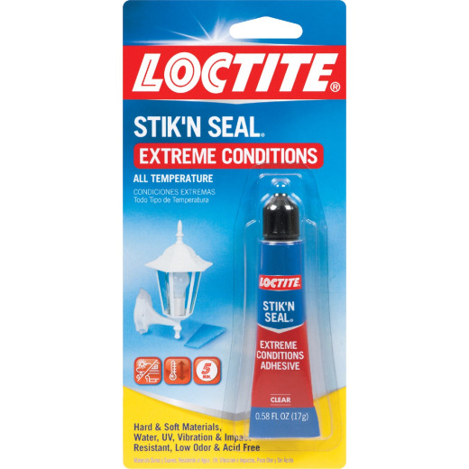 LOCTITE Stik'N Seal .58 Oz. Extreme Conditions Multi-Purpose Adhesive