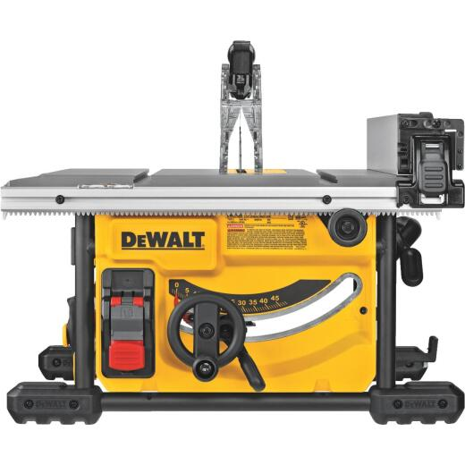 DeWalt 15A 8-1/4 In. Compact Job Site Table Saw w/Site-Pro Modular Guarding System
