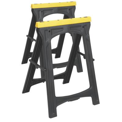 Do it 22-1/2 In. L Plastic Folding Sawhorse, 500 Lb. Capacity (2-Pack)