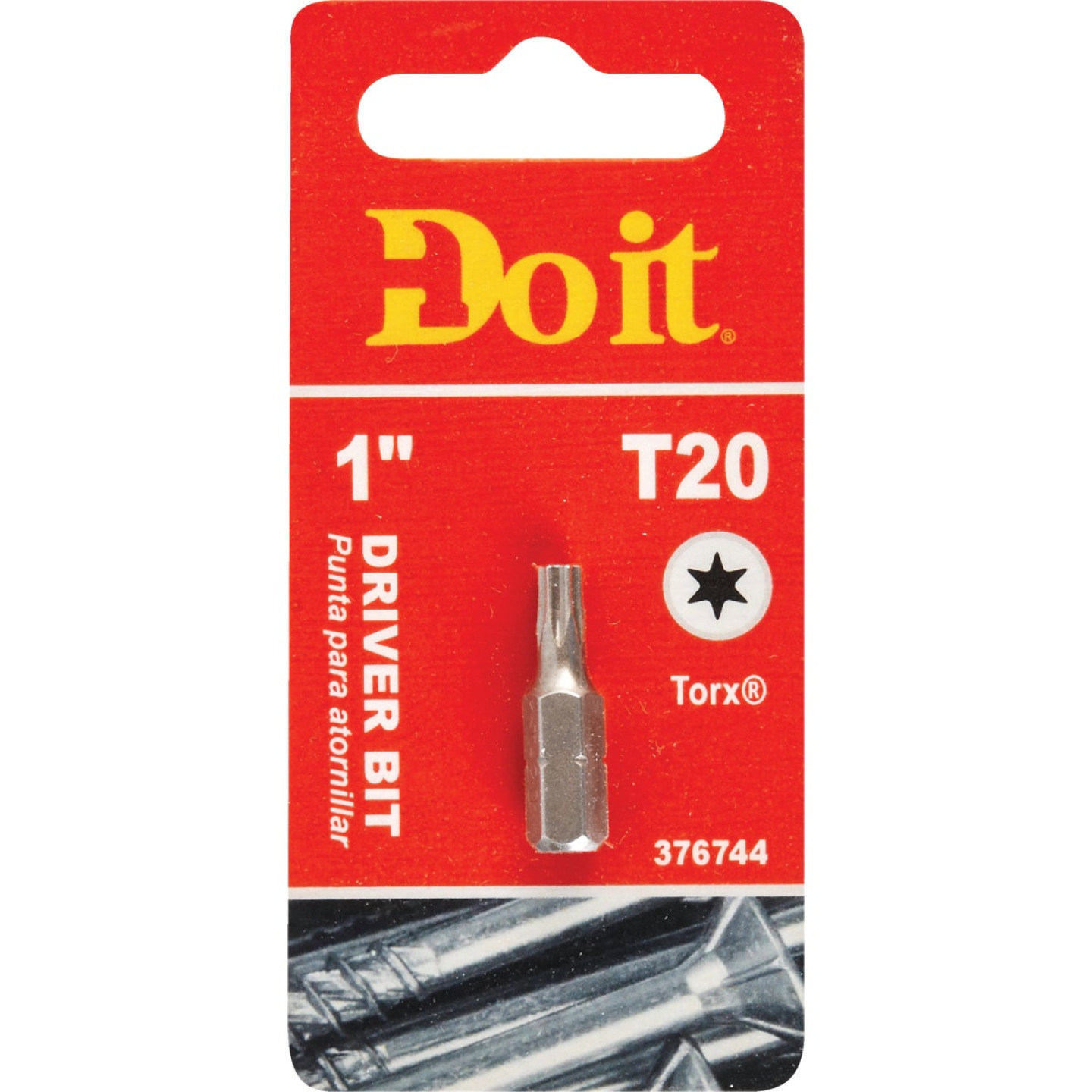 Do it T-20 TORX 1 In. Insert Screwdriver Bit Image 1