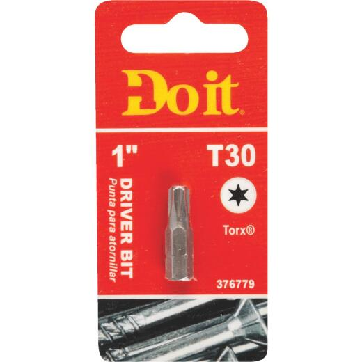 Do it T-30 TORX 1 In. Insert Screwdriver Bit