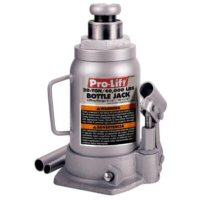Pro-Lift 20-Ton Hydraulic Bottle Jack