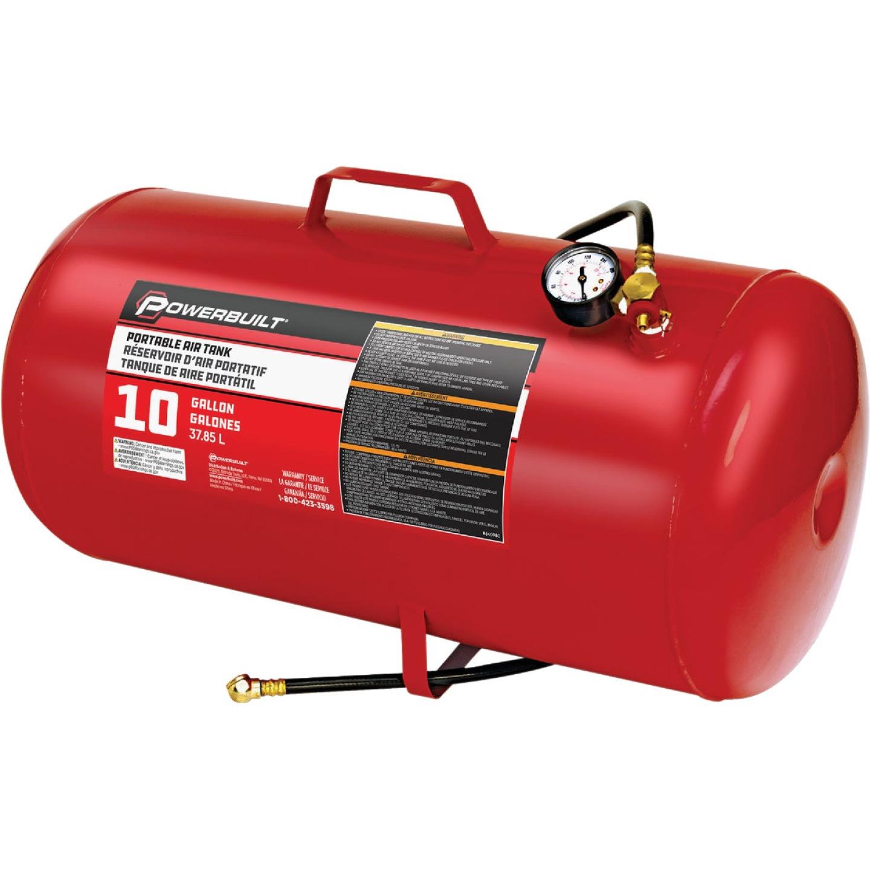 Powerbuilt 10 Gallon Portable Shop Air Tank Image 1