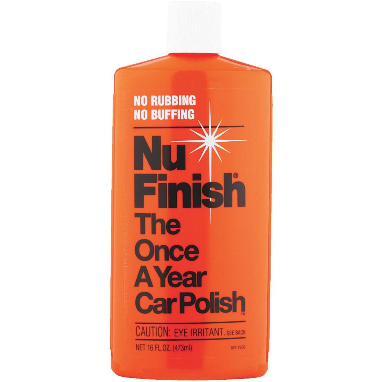 Nu Finish 16 oz Liquid Car Wax Image 1