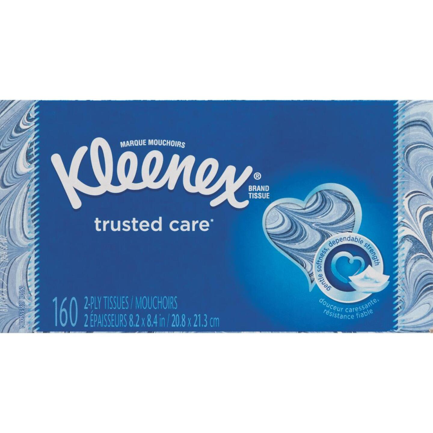 Kleenex Trusted Care 144 Count 2-Ply White Facial Tissue Image 1