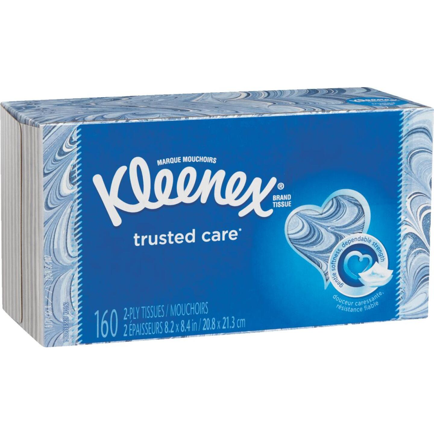 Kleenex Trusted Care 144 Count 2-Ply White Facial Tissue Image 2