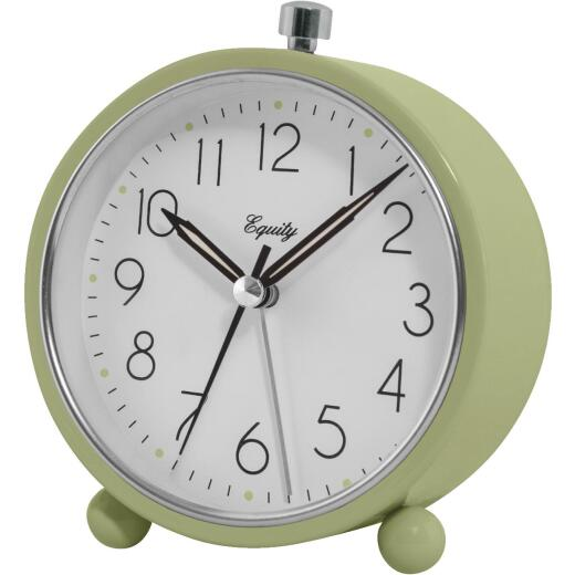 La Crosse Technology Equity Analog Quartz Battery Operated Alarm Clock
