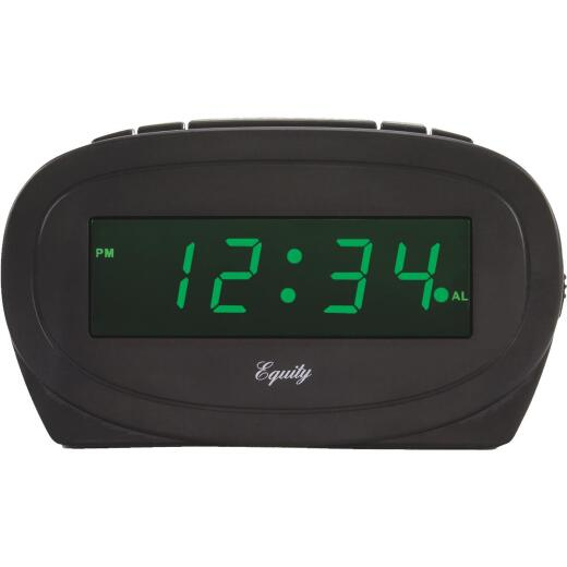 La Crosse Technology Equity Green LED Electric Alarm Clock