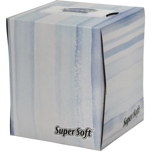 Super Soft 80 Count Premium Facial Tissues
