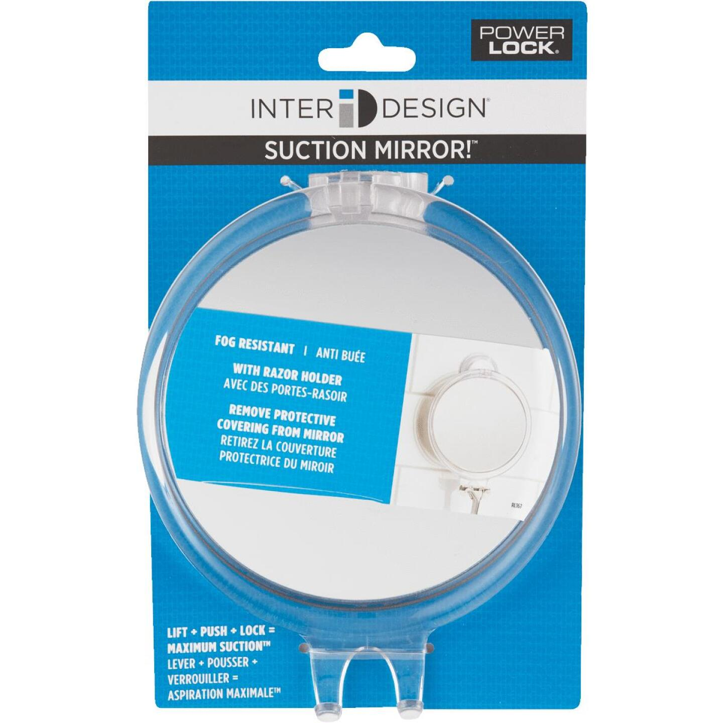 InterDesign Franklin Suction Fog-Free Mirror Image 2