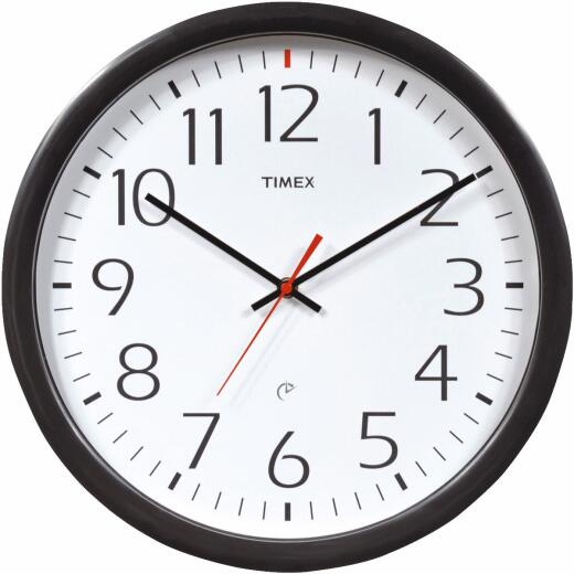 Timex Set & Forget Office Wall Clock