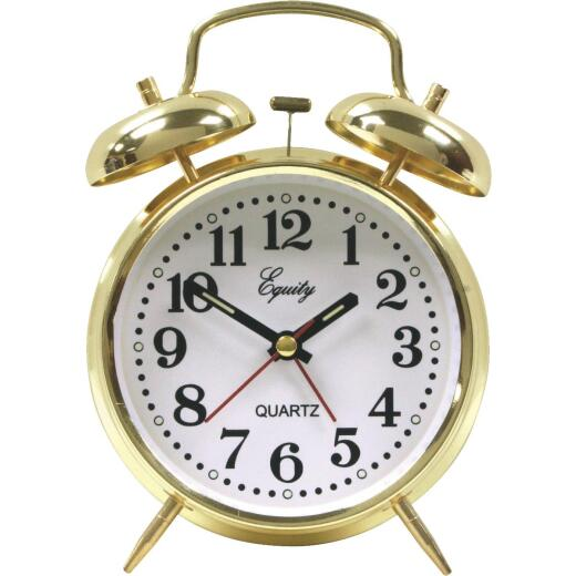 La Crosse Technology Equity Keywound Twin Bell Alarm Clock