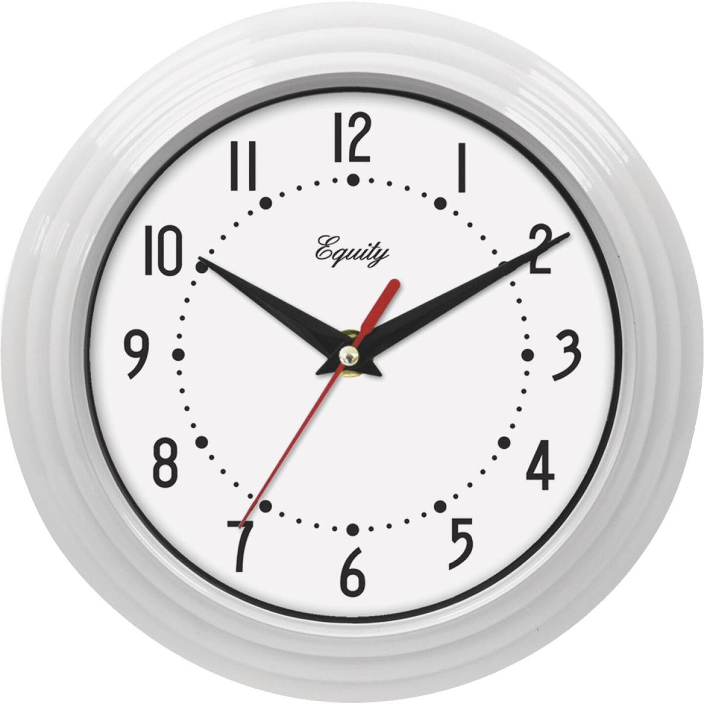 La Crosse Technology Equity White Traditional Wall Clock Image 1
