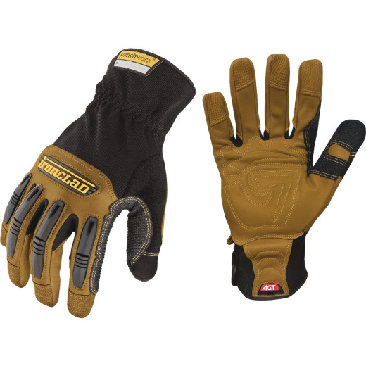 Ironclad Ranchworx Men's Large Leather High Performance Work Glove