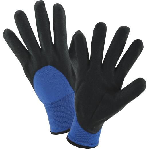 West Chester Men's Large Nitrile Coated Nylon Winter Glove