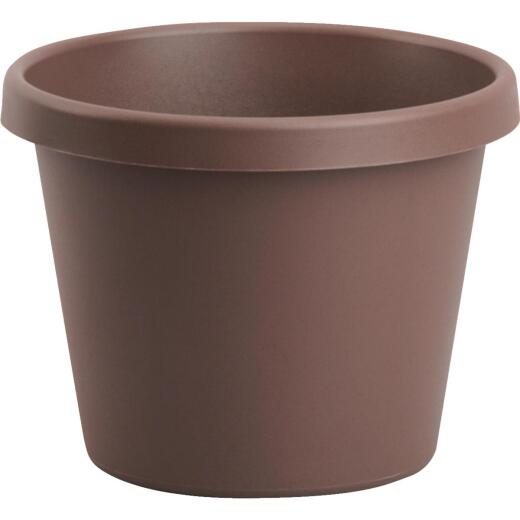 Bloem 16 In. Dia. Chocolate Poly Classic Flower Pot