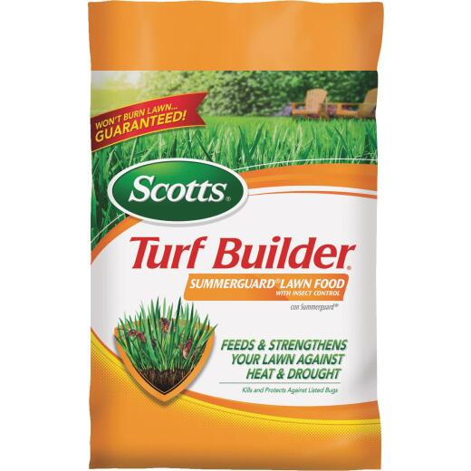 Scotts Turf Builder SummerGuard 40.05 Lb. 15,000 Sq. Ft. 20-0-8 Lawn Fertilizer with Insecticide