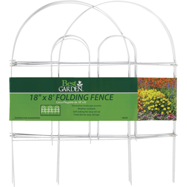 Best Garden 8 Ft. Wire Folding Fence Image 5