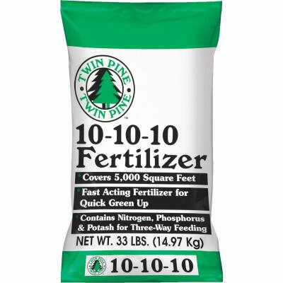 Twin Pine 33 Lb. 5000 Sq Ft. 10-10-10 All Purpose Fertilizer
