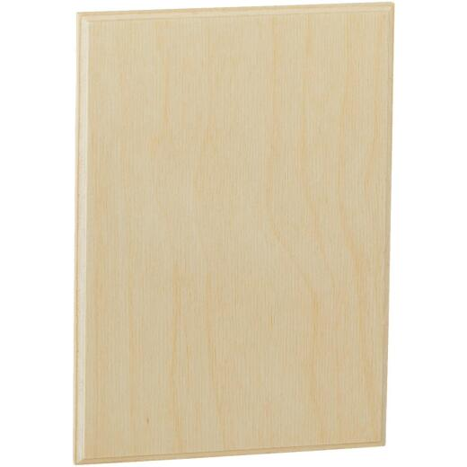 Walnut Hollow 5.25 In. x 7.25 In. Rectangular Unfinished Wood Plaque