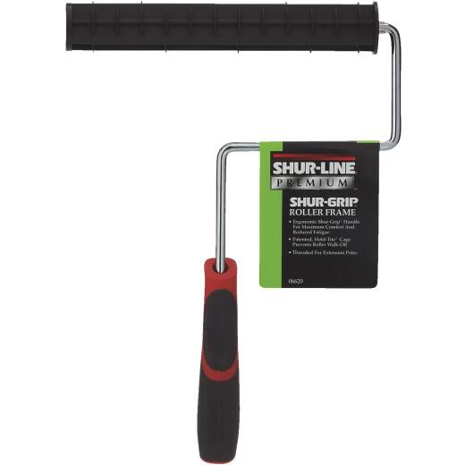 Shur-Line Shur-Grip 9 In. Ergonomic Threaded Roller Frame