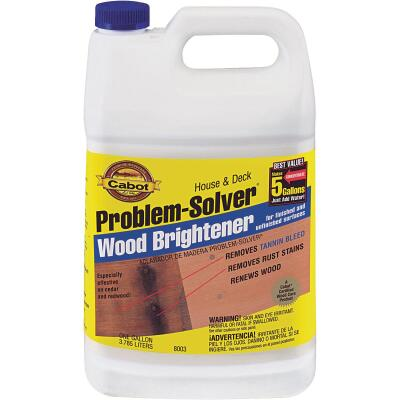Cabot Problem-Solver 1 Gal. House & Deck Wood Brightener