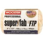 Wooster Super/Fab FTP 4 In. x 1/2 In. Knit Fabric Roller Cover Image 1
