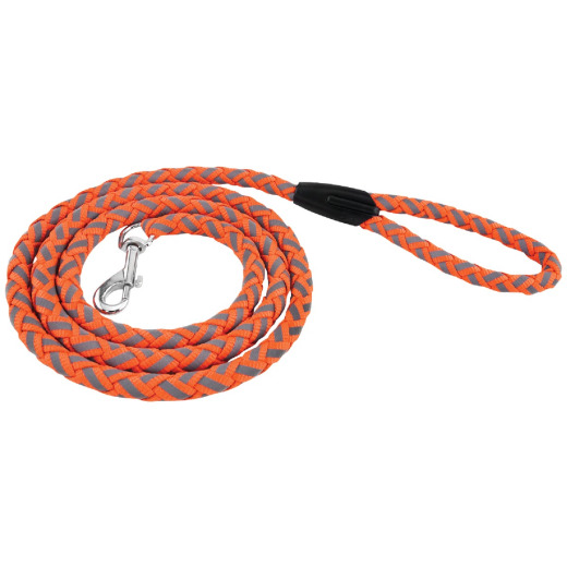 Westminster Pet Ruffin' it Reflective 6 Ft. Safety Orange Dog Leash