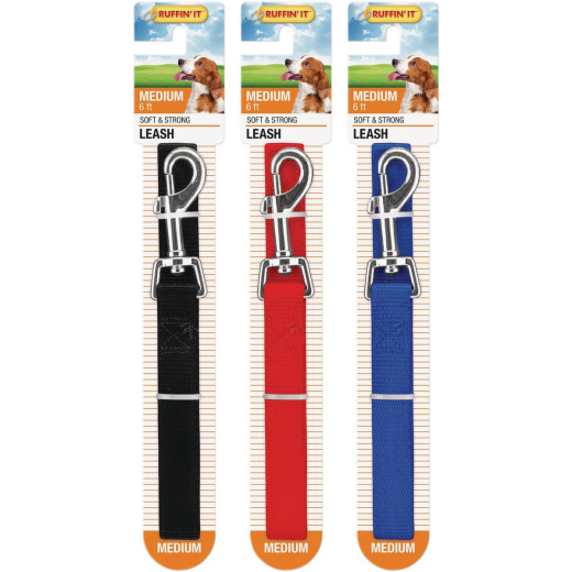 Westminster Pet Ruffin' it 6 Ft. Nylon Dog Leash